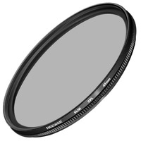 Neewer 49MM Ultra Slim CPL Filter Circular Polarizer Lens Filter For SONY Alpha A3000 DSLR And