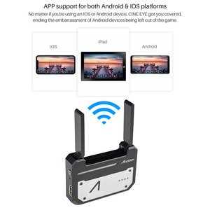 Image 2 - In Stock Accsoon CineEye 5G Wireless 1080p WiFi HDMI Transmitter Image Transmission to 4 Devices for Android IOS Garyscale RGB