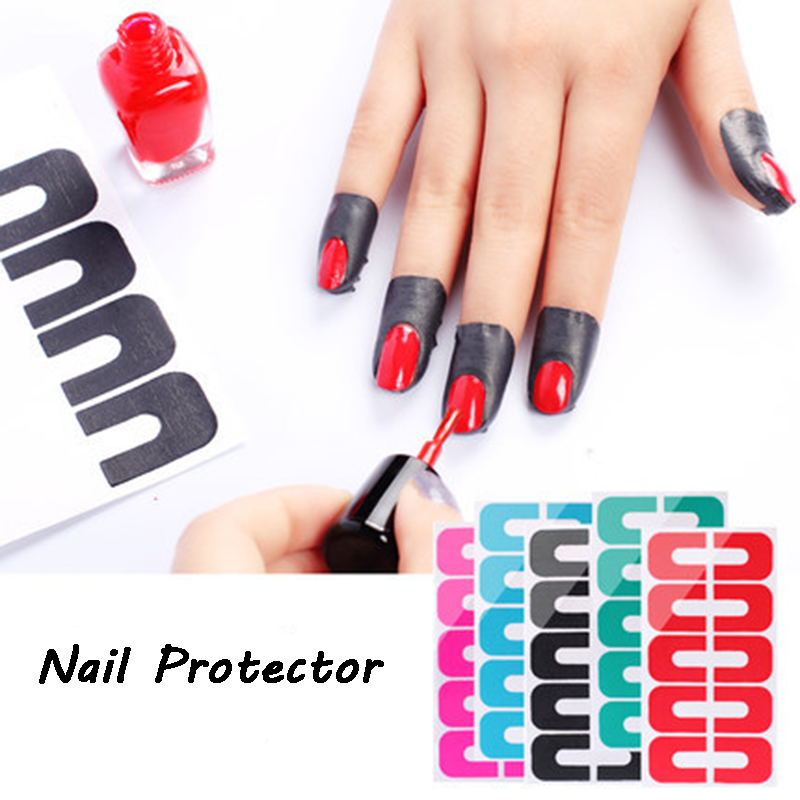 3pcs/lot Nail Palisade Tape Peel Off Tape  Nail Art Stickers Tips Nail Tools Nail Protector Latex-Free Cuticle Protect Stickers nail clipper cuticle nipper cutter stainless steel pedicure manicure scissor nail tool for trim dead skin cuticle