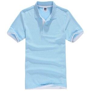 زائد حجم XS-3XL العلامة التجارية الجديدة الرجال بولو قميص الرجال Desiger عارضة الرجال القطن قصير كم قميص الملابس الفانيلة golftennis TX107
