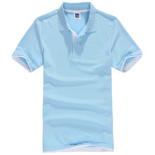 Plus Size XS-3XL Brand New Men's Polos Shirt Men Desiger Casual Men Cotton Short Sleeve shirt Clothes jerseys golftennis TX107(China)