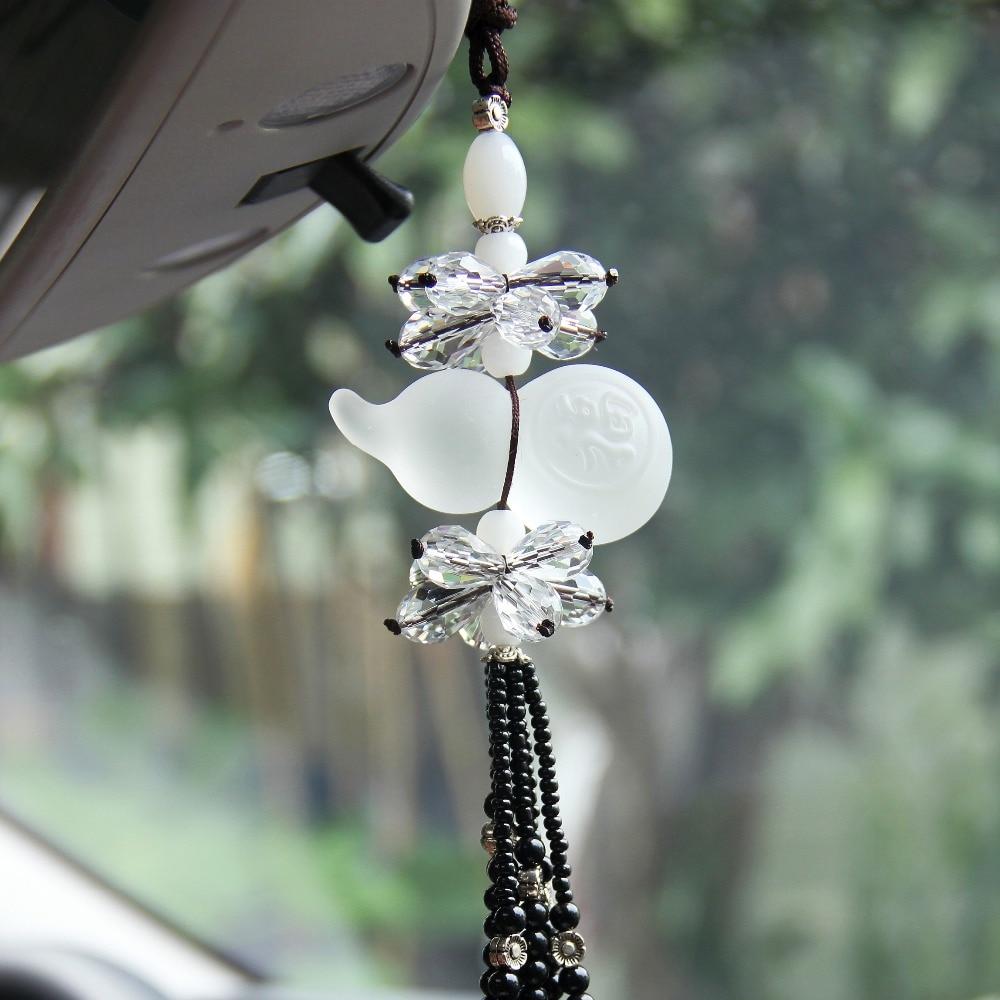 Crystal Car Styling Hanging Ornament Luxury Lucky Zucca Benedizione - Accessori per auto interni