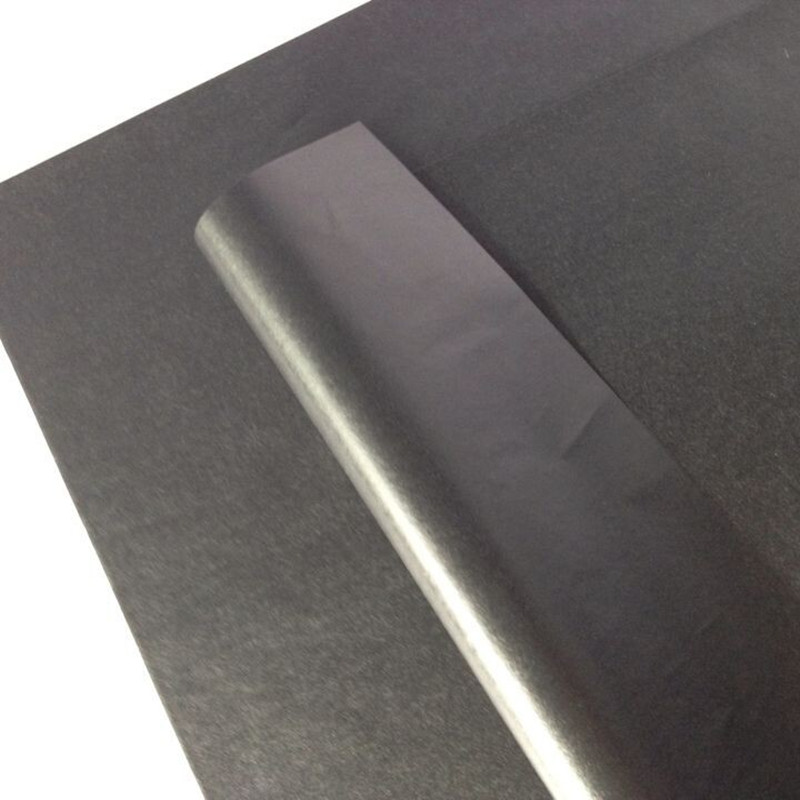 100 Sheets Ultra Black Tissue Paper Dual Glazed Printing for Luxury Gift Wrapping Free Shipping