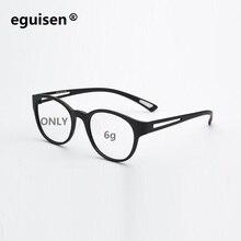 width-138 Ultra-light 6g TR100 carbon fiber full frame female eyeglasses frames womem myopia optical spectacles eyewear