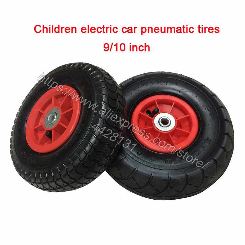 Children Ride On Car Rubber Tires,Children Electric Vehicle Pneumatic Wheels,Karting Inflatable Tires Baby Cars Wheels For Toy