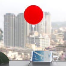 1800mah charger solar sunever 1pc stick on car of window solar power bank New patent universal power bank for iphone/HUAWEI/LG