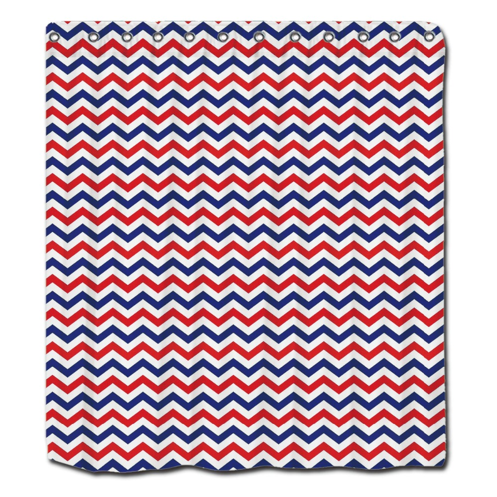 Blue And White Shower Curtains Octavia Shower Curtain In Blue
