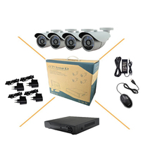4CH CVI 1.3MP HD 960P With 6 Blue IR LEDs CCTV Camera P2P Outdoor Security System 4CH DVR For CVI Camera Free Shipping