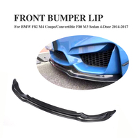 F80 F82 F83 M3 M4 Carbon Fiber V Style Front Lip for BMW F80 M3 Sedan F82 M4 Coupe F83 M4 Cabriolet 2012 2017