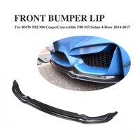 F80 F82 F83 M3 M4 Carbon Fiber V Style Front Lip for BMW F80 M3 Sedan F82 M4 Coupe F83 M4 Cabriolet 2012 2017