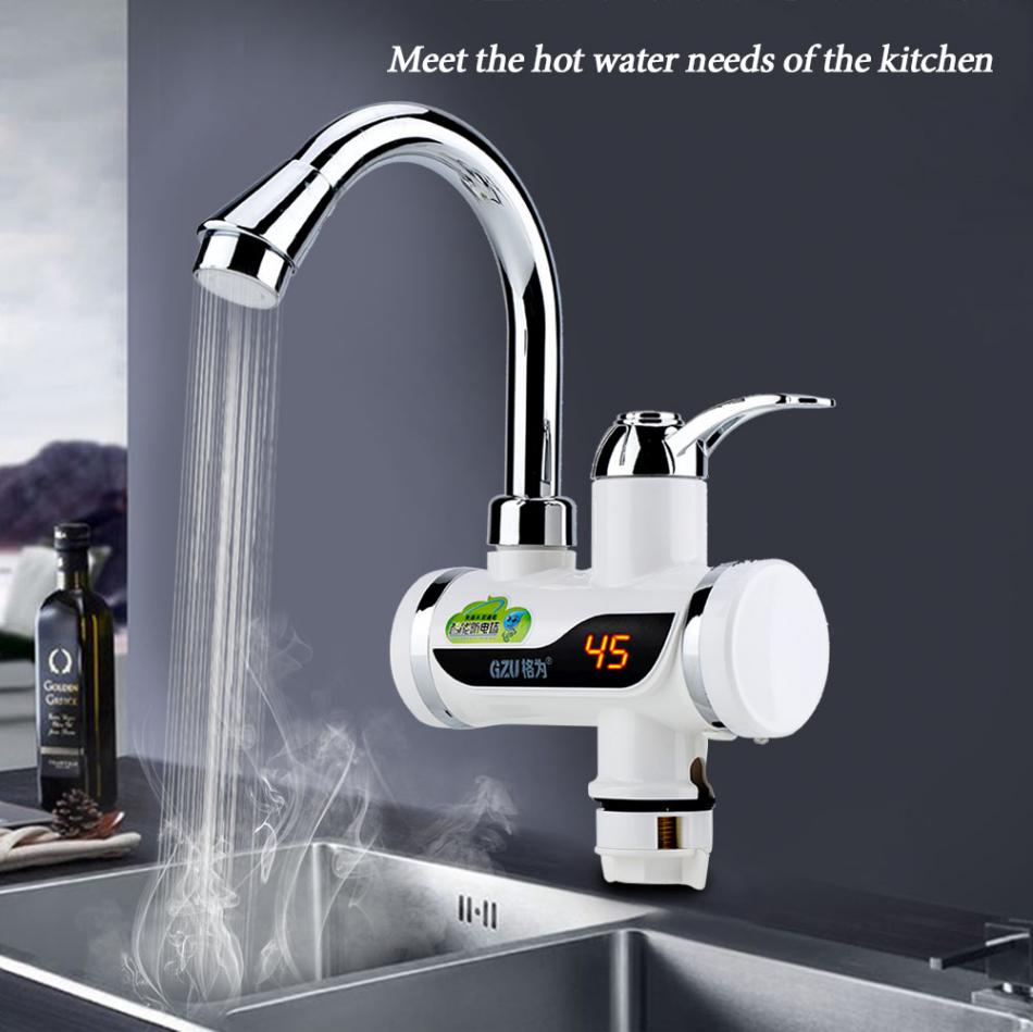 Instant Hot and Cold Water Dispenser Heater Heating Faucet ...