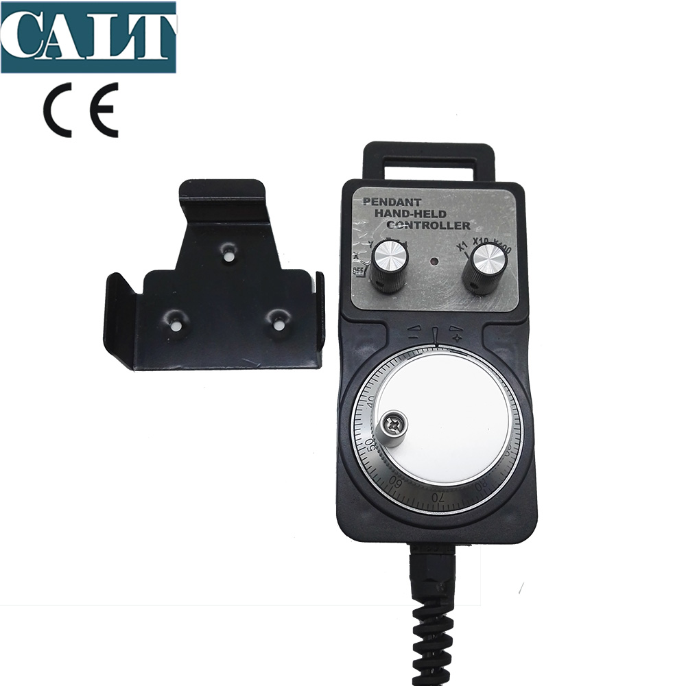 CNC controller low cost mpg 100 Pulse Handwheel A B Signal Hand-held pendant manual pulse generator encoder Suitable for FANUC CNC controller low cost mpg 100 Pulse Handwheel A B Signal Hand-held pendant manual pulse generator encoder Suitable for FANUC