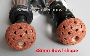 Image 2 - 38/55mm Tungsten steel alloy grinding head Car tire grinding head Mushroom head Tire repair tool High/low speed handle