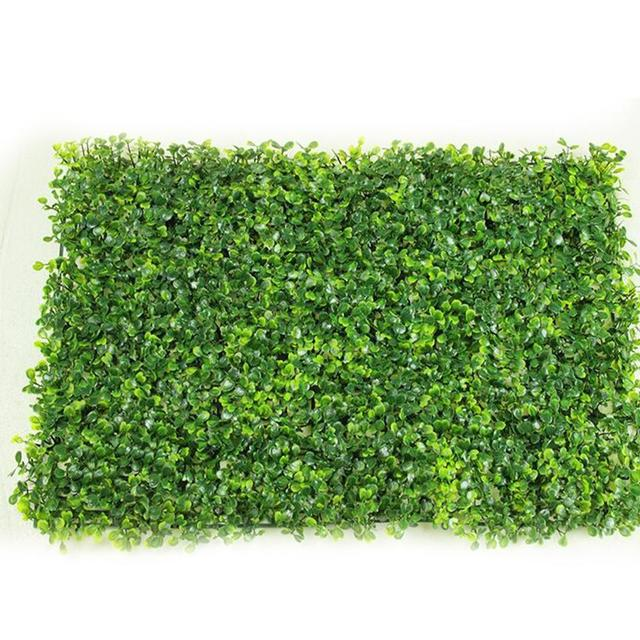 adeeing artificial plastic milan grass plants wall lawns as hanging