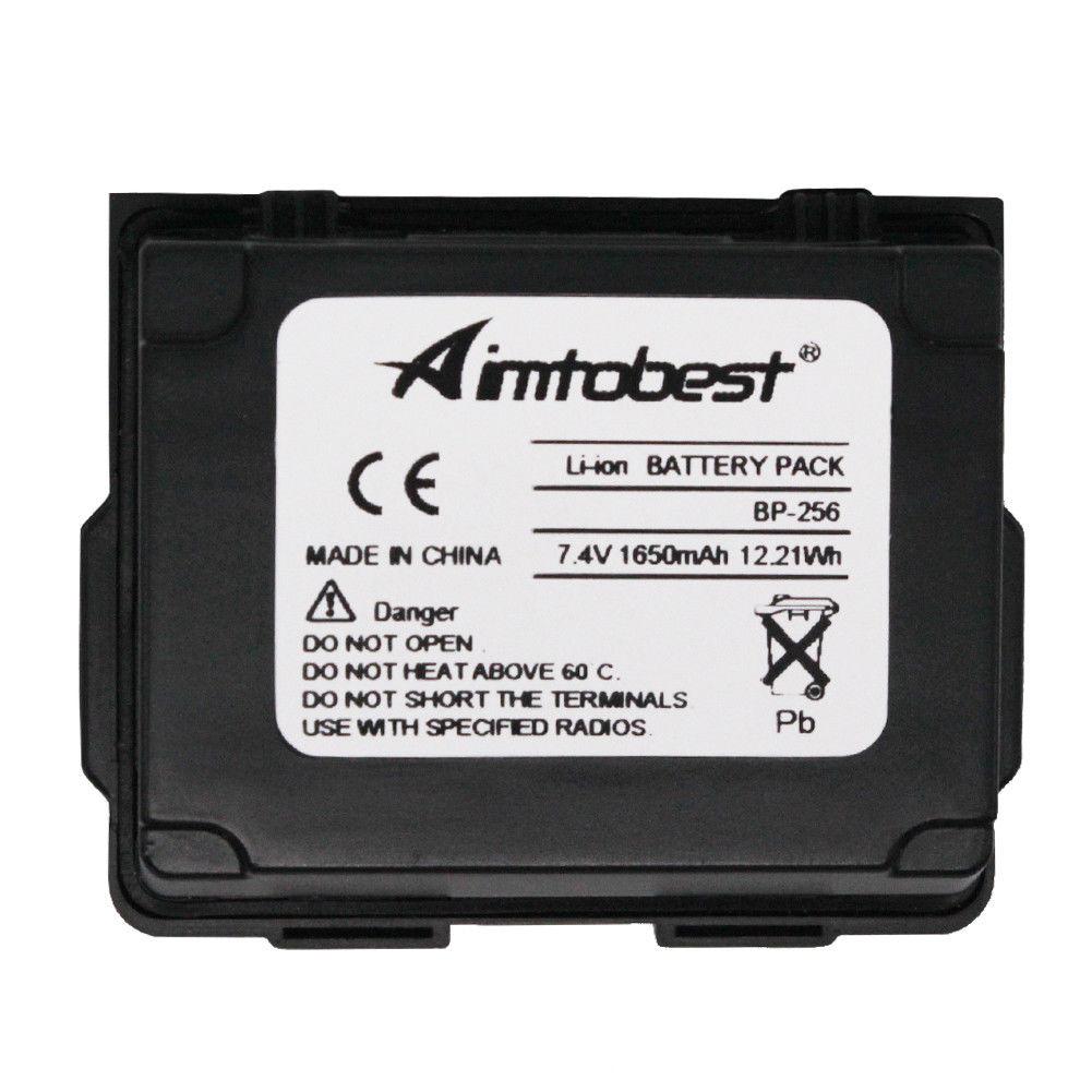 BP-256 BP256 1650mAh High Capacity Li-ion Battery For Icom Radio IC-92AD IC-E92D ID-92