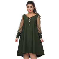 Loose Black Women Dress 2018 Plus Size Summer Dress Sexy Mesh Beach Dress Big Size Sheer