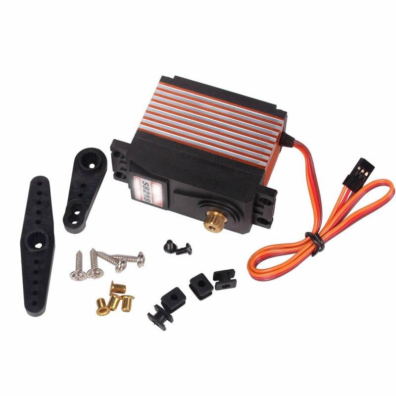CYS-S8218 Digital Metal 40KG High Gear Torque Servo 0.18s 38kg 1:5 RC Plane Car велосипедный руль cys al6061ergotec mtb tw 25 4mm 31 6mm tt cys zd2