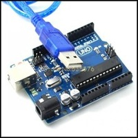 Free Shipping UNO R3 MEGA328P ATMEGA16U2 For Arduino Compatible 1PCS USB Cable