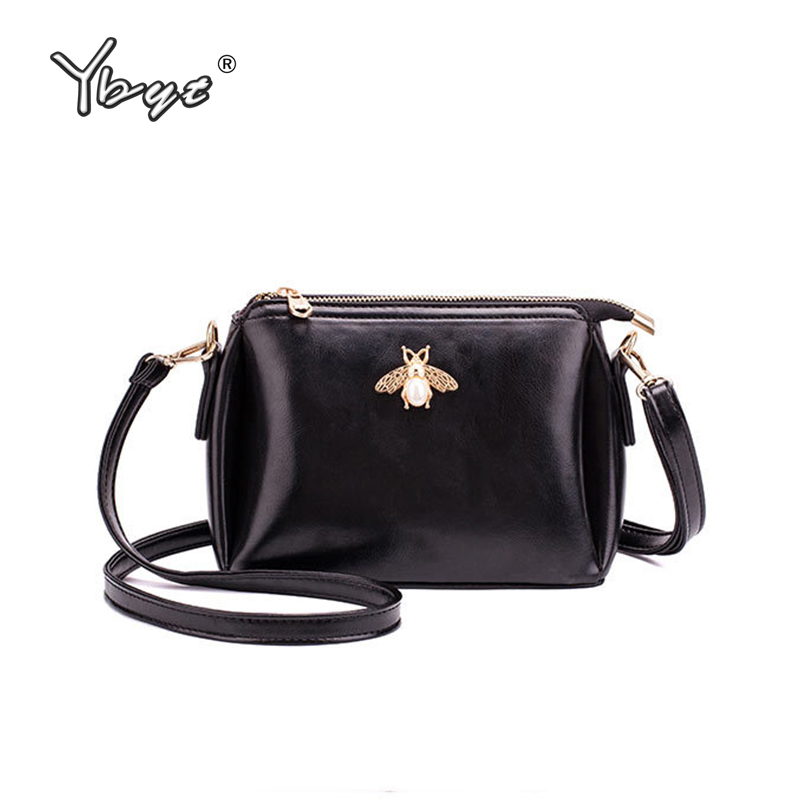 YBYT Brand 2019 New Crossbody Bags For Women Mini Shoulder Bag Ladies Handbags Simple Fashion Women Messenger Bag Bolsa Feminina