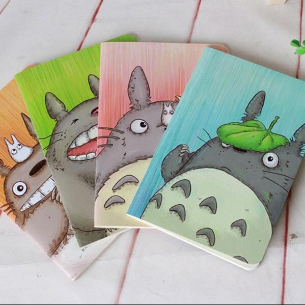 1pcs/lot  208*142mm New Kawaii Cartoon Totoro series 22k notebook  Diary nice gift  office school supplies