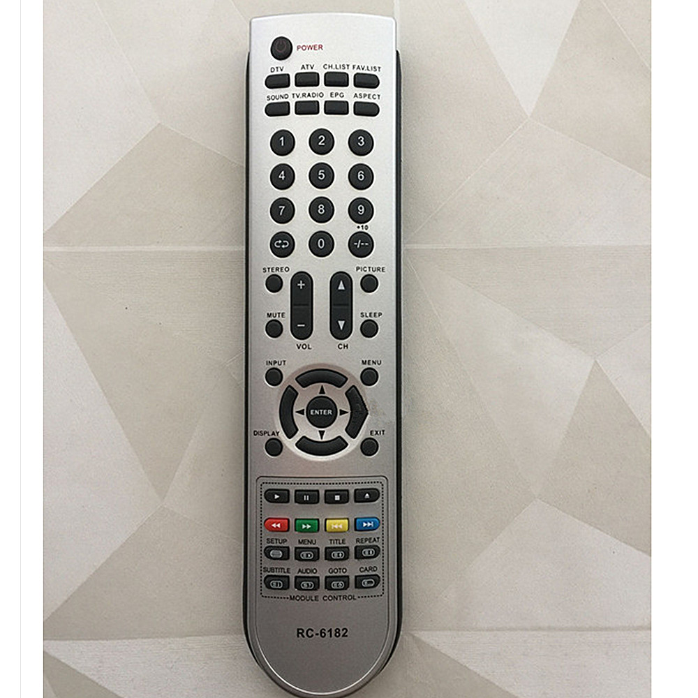 New remote control for malata LCD TV RC-6182 new dimension control levi777t levi777a lcd screens