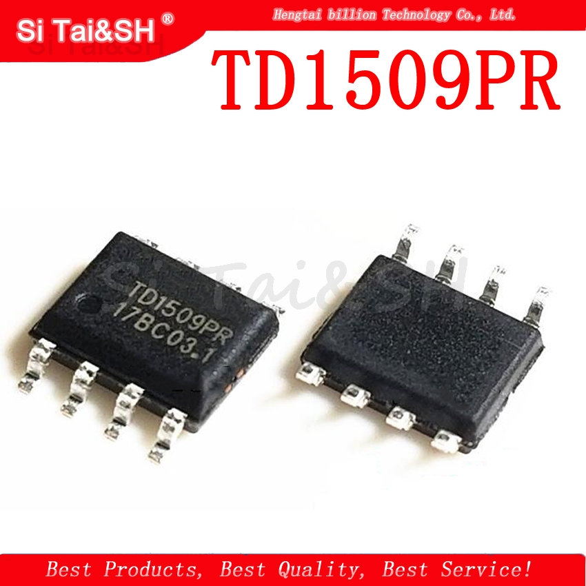 1PCS TD1509PR SOP8 TD1509 SOP TD1509P SMD New And Original IC Adjustable Buck Switching Voltage Regulator Chip