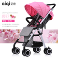 Super light baby stroller high landscape baby pram free gifts send 4 colors in stock