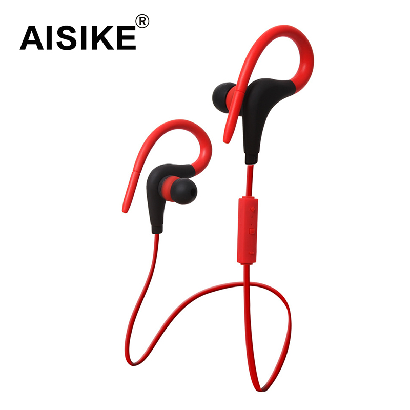 AISIKE Wireless Earphone Bluetooth 4.1 Headset to in ear Earpiece Sport Running Stereo with Microphone earphone fone de ouvido headphones car charger bluetooth in ear headset earphone earpiece combo wireless connection hands free with microphone 2 in 1