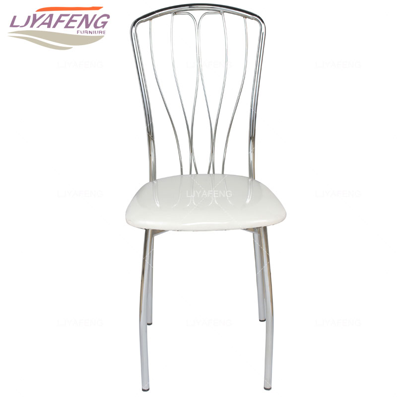 Modern minimalist kitchen household dining chair backrest dining table chair Cafe chair chair stool office with electroplating dining chair the lounge chair creative cafe chair