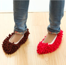 Creative Home1pcs 7 Colors Dust Mop Slipper House Cleaner Lazy Floor Dusting Cleaning Foot Shoe Cover Dust Mop Slipper