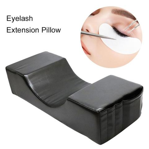 enxertia cilios almofadas especiais eather e flanela travesseiro especial para a beleza travesseiro para a