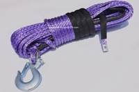 3 8 100ft Purple Synthetic Winch Rope Boat Winch Cable Towing Ropes Synthetic Rope Plasma Winch