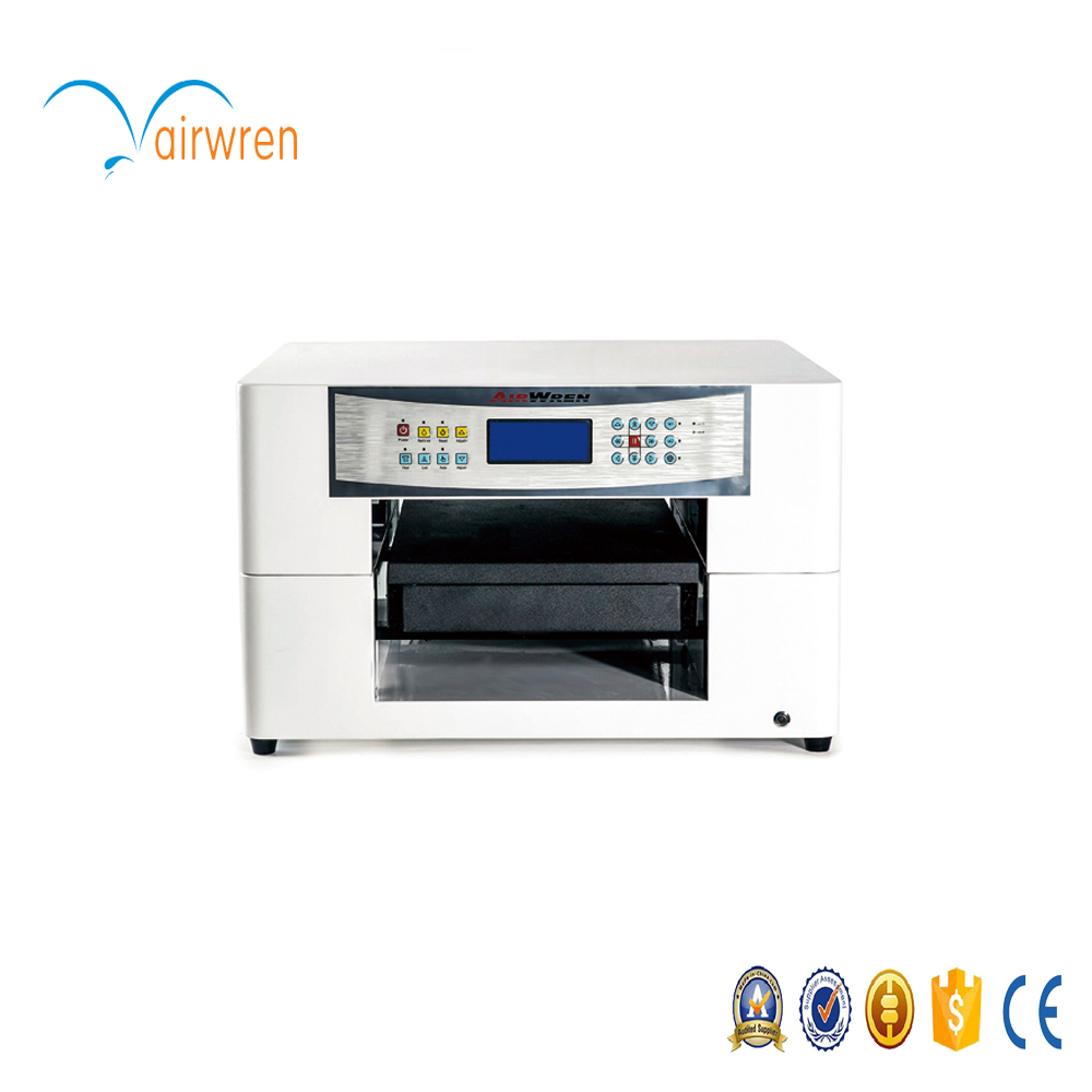automatic A3 small Uv Led printing machine glass metal - Office Electronics