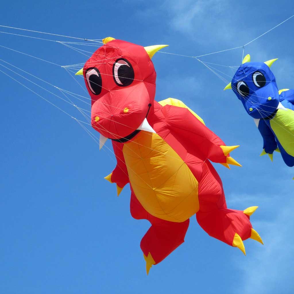 3d rainbow fun factory software weifang kite dinosaur baby - Dinosaur volant ...
