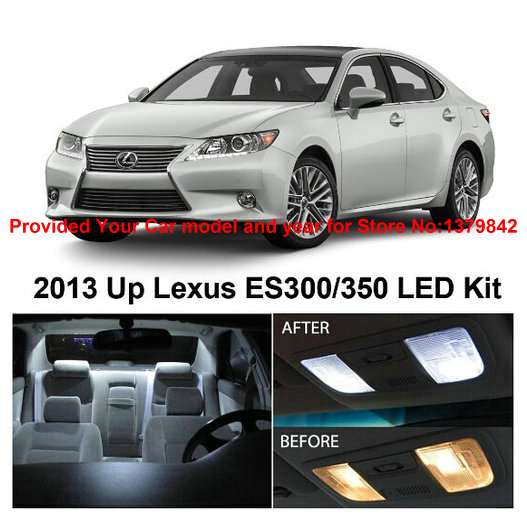 Free Shipping 8Pcs/Lot auto led light bulbs for cars LED Car Lights car interior lighting For Lexus ES300 ES350 2013 u0026 Up-in Signal L& from Automobiles ...  sc 1 st  AliExpress.com & Free Shipping 8Pcs/Lot auto led light bulbs for cars LED Car Lights ...