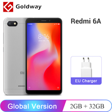 Küresel Sürüm Xiaomi Redmi 6A 6 Bir 2 GB RAM 32 GB ROM Cep Telefonu Helio A22 Dört Çekirdekli 5.45