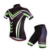 WOSAWE Kurzarm Radfahren Jersey Fahrrad Radfahren Mountain Fahrrad Sportbekleidung Roupa Ciclismo Jersey Shorts Sets Anzug-in Fahrrad-Sets aus Sport und Unterhaltung bei