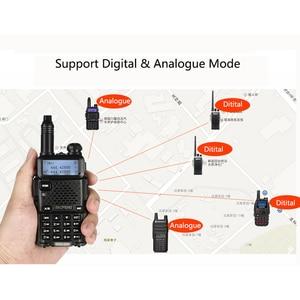 Image 5 - 2 PCS Baofeng DM 5R נייד דיגיטלי מכשיר קשר CB חזיר VHF UHF DMR רדיו תחנת כפול Dual Band משדר Boafeng amador