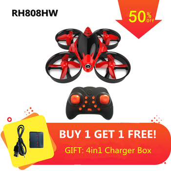 Mini Drone with 0.3MP Camera Altitude Mode Quadrocopter with Camera 2.4G RC Helicopter 6 Axis RC Quadcopter Toys VS JJR H36 E010