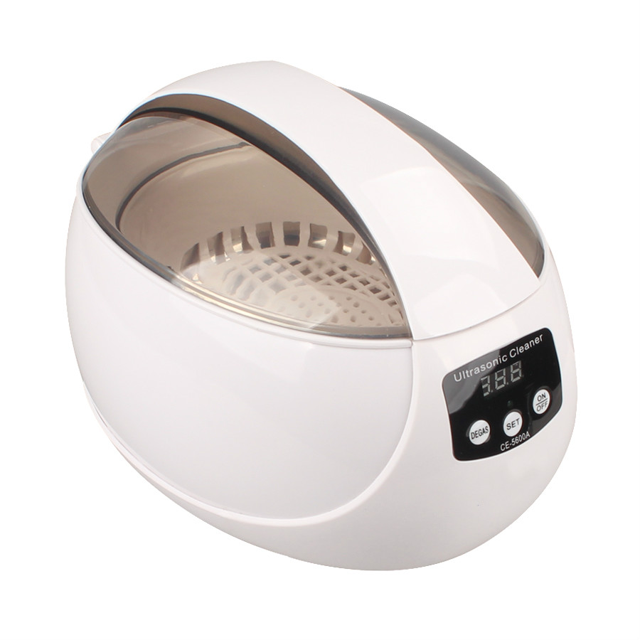 Verdura Lavatrice Frutta e verdura cleaner strumento di pulizia ad ultrasuoni 50 w occhiali vigilanza dei monili di protesi macchina.