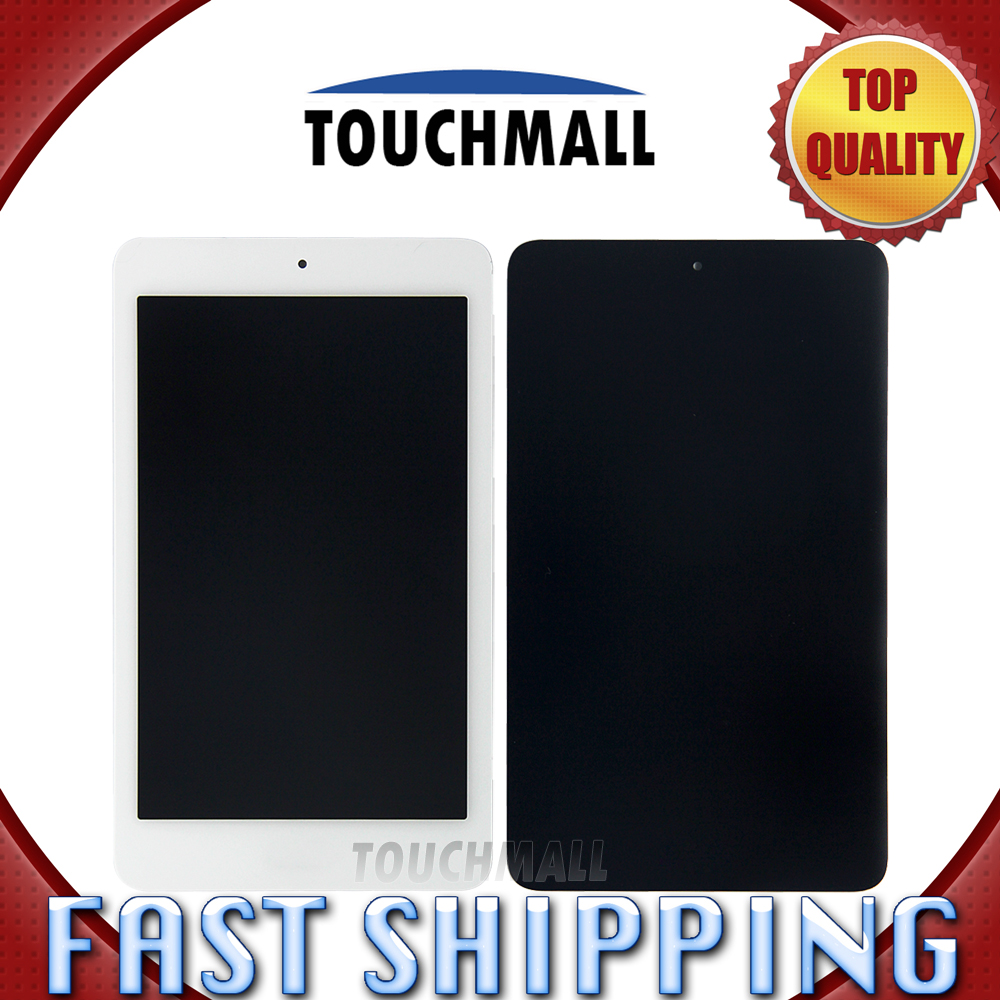 For New LCD Display Touch Screen Assembly Replacement Acer Iconia one 7 B1-750 B1 750 7-inch Black White Free Shipping