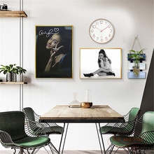 Ariana Grande Portraits Posters and Prints Canvas Art Painting Wall Pictures For Living Room Home Decorative Bedroom No Frame