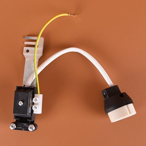 gu10 socket base connector ceramic holder lamp wiring for gu10 base rh aliexpress com Wiring Multiple Lights Wiring Lights in Series