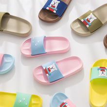 New Boys Girls Summer Casual Sandals Fashion Pattern Kids Slippers Barefoot Water Shoes for Children Bath Beach