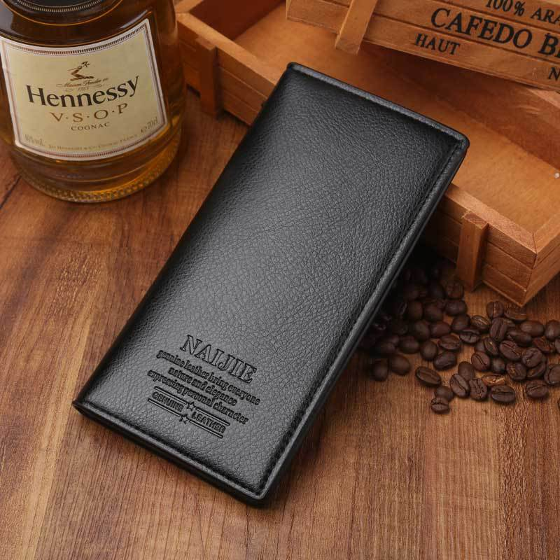 Slim Wallet Men Thin Business Men's Wallet Brand Fashion Male Vintage Clutch Money Bag Solid Soft Small Coin Purse Men Pocket new fashion men s wallet men zipper business clutch male money bag carteira brand long purse multifunction coin