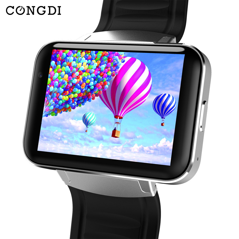Bluetooth Smart Watch DM98 Call Camera Video Call Push Message Music player WiFi GPS Global communications support for Whatsapp