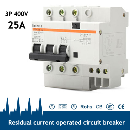 Fabulous Ce Certificated 3P N 25A Residual Current Circuit Breaker Rccb In Wiring 101 Orsalhahutechinfo