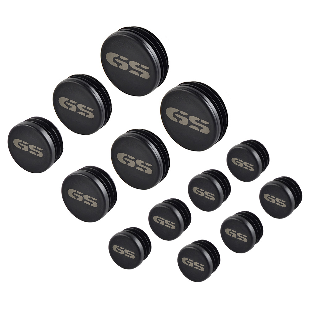 13PCS Motorcycle Frame Hole Cover Caps Plug Decor For <font><b>BMW</b></font> R1200GS R 1200GS R <font><b>1200</b></font> <font><b>GS</b></font> <font><b>Adventure</b></font> ADV 2013 2014 <font><b>2015</b></font> 2016 Hot sale image