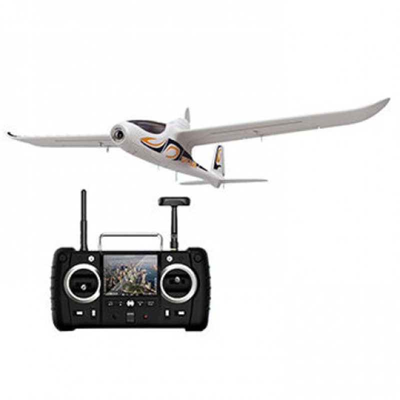New Hot Hubsan H301S HAWK 5.8G FPV 4CH RC Airplane RTF With GPS Module Transmitter and 1080P HD Camera hubsan h301s spy hawk 4ch rc airplane