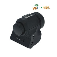 WIFI Microscope Eyepiece Observe Still Image Record Live Video For Microscope Telescope